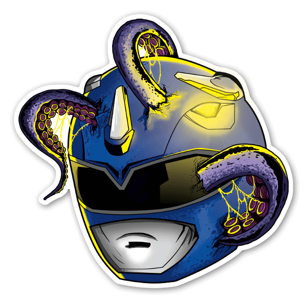 Blue ranger sticker