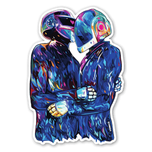 The Embrace sticker