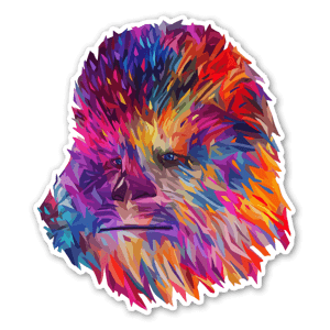 Chewie sticker