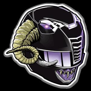 Ranger demone sticker