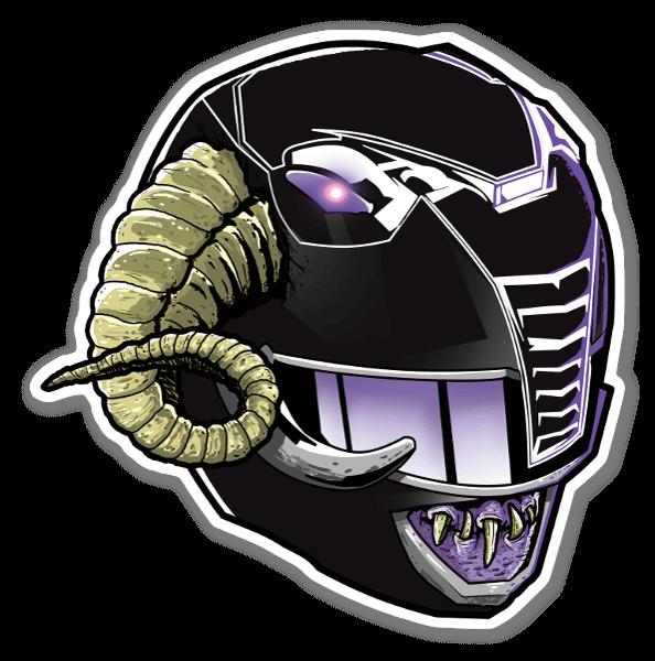 Demon Ranger  sticker