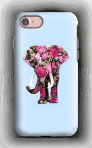 Floral Elephant case IPhone 7 tough