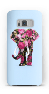 Floral Elephant case Galaxy S8