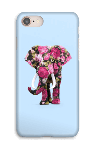 Elefante de Flores funda IPhone 8