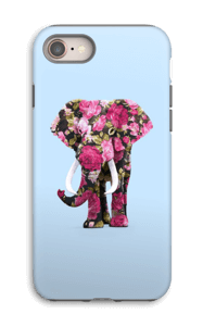 Floral Elephant case IPhone 8 tough