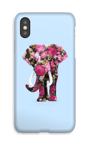 Blommig elefant skal IPhone X