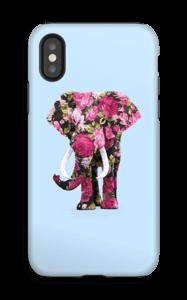 Floral Elephant case IPhone X tough