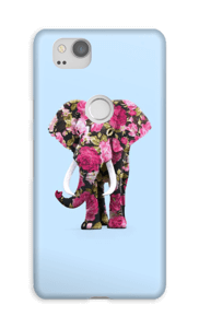 Elefante de Flores funda Pixel 2