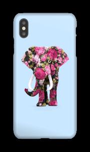 Bloemen olifant hoesje IPhone XS Max