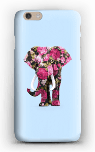 Blommig elefant skal IPhone 6