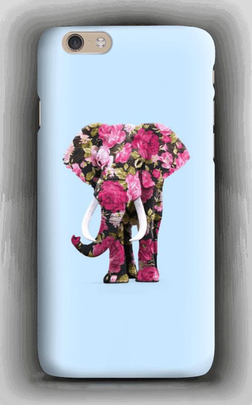 Blomstrete elefant deksel IPhone 6