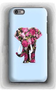 Blommig elefant skal IPhone 6s Plus tough