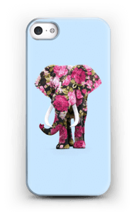 Floral Elephant case IPhone SE