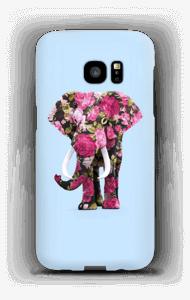 Floral Elephant case Galaxy S7 Edge