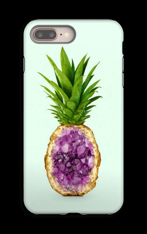 Timanttiananas kuoret IPhone 8 Plus tough
