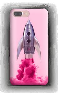 Lilla rakett deksel IPhone 7 Plus
