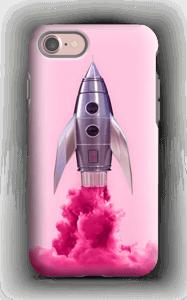Lilla rakett deksel IPhone 7 tough