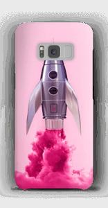 Paarse raket hoesje Galaxy S8