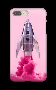 Vaaleanpunainen raketti kuoret IPhone 8 Plus