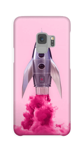 Pinke Rakete Handyhülle Galaxy S9