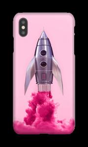 Vaaleanpunainen raketti kuoret IPhone XS Max