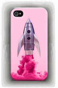 Vaaleanpunainen raketti kuoret IPhone 4/4s