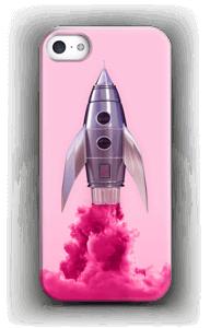Vaaleanpunainen raketti kuoret IPhone 5/5S
