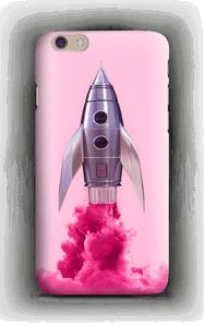 Vaaleanpunainen raketti kuoret IPhone 6 Plus