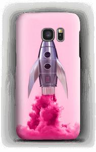 Purple Rocket case Galaxy S7