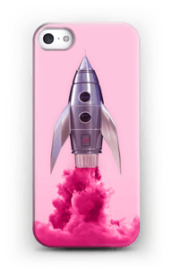 Purple Rocket case IPhone SE