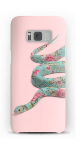 Blomsterslange cover Galaxy S8
