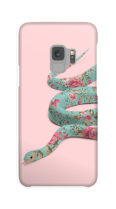 Blumenschlange Handyhülle Galaxy S9