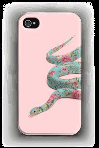 Kukkakäärme kuoret IPhone 4/4s