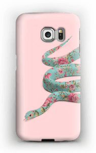 Serpent à fleurettes Coque  Galaxy S6 Edge