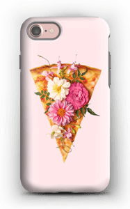Pizza i blom skal IPhone 7 tough