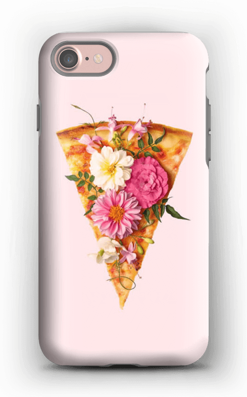 Blomsterpizza deksel IPhone 7 tough