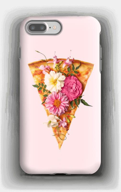 Blomsterpizza deksel IPhone 7 Plus tough