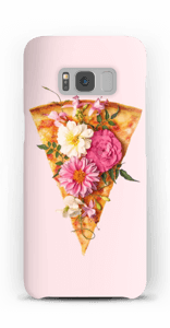 Pizza i blomst cover Galaxy S8