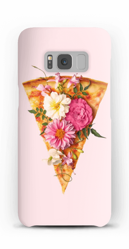 Blomsterpizza deksel Galaxy S8
