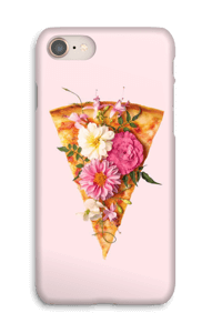 Pizza Floreada funda IPhone 8