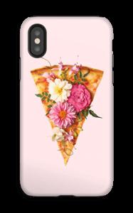 Pizza i blom skal IPhone X tough