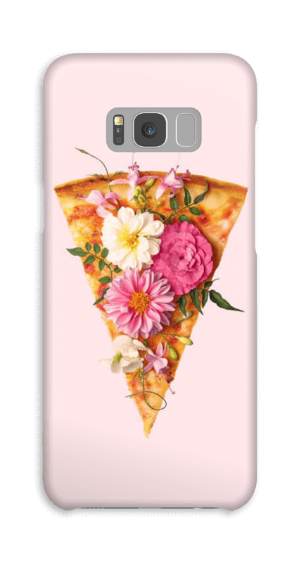 Blomsterpizza deksel Galaxy S8 Plus