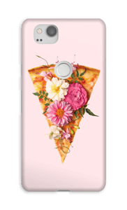 Pizza Floreada funda Pixel 2