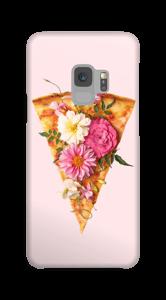 フラワーピッツァ ケース Galaxy S9