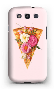 Pizza i blomst cover Galaxy S3
