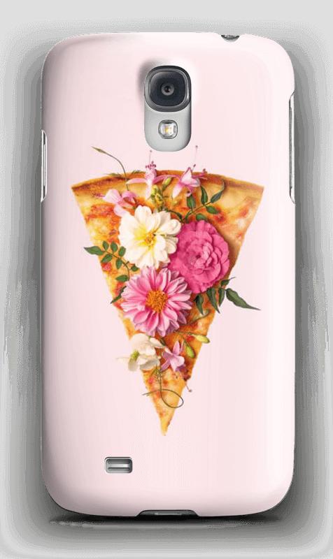 Blomsterpizza deksel Galaxy S4