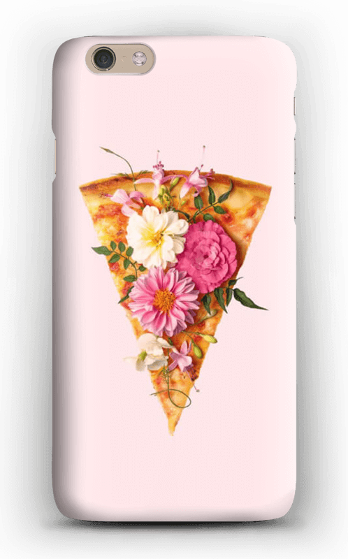 Blomsterpizza deksel IPhone 6