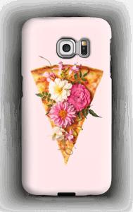 Kukkaispizza kuoret Galaxy S6 Edge