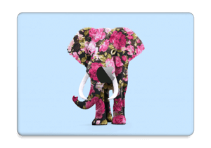 "Floral Elephant  Skin MacBook Pro 13"" 2016-"