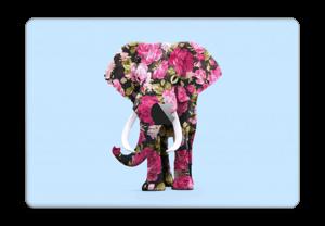 "Fleurs d'éléphant Skin MacBook Pro 15"" 2016-"